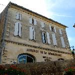 front of the auberge