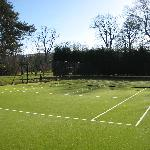 Tennis Courts At Chatton Park
