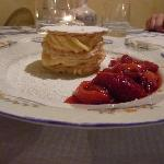 not too sweet, just perfect - everything we had was delicious. portions are perfect, not too muc