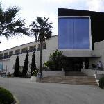 the hotel front
