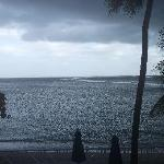 "View from room...""a liquid sunshine type day"""