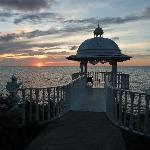 Sunset at Wedding Pavilion