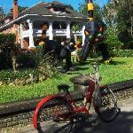 Herlong Mansion during Halloween season