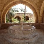 fountain in monestry