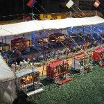 part of miniature circus model