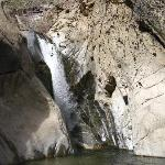 Magnificent waterfall Tahquitz canyon trail