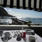 Breakfast at the Waves
