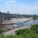 Soklowski's overlooks Cuyahoga River