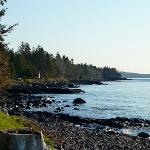 The Shore of Lake Superior at Larsmont Cottages