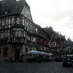 Bacharach, town square
