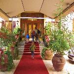 Pretty Hotel Entrance