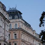 Hotel Humboldt, chambre dans la tourelle...