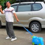 Mr Lek (Taxi Driver) going on his holidays....