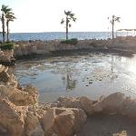 This is the lagoon that we were told that it is the alternative of the pools!