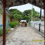 Fun trishaw ride in Pengyengat Island