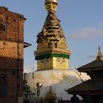 Swayambhunath-templet
