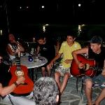 Rock night with guests