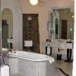 The glorious bathroom