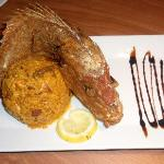 Whole Red Snapper Plato's