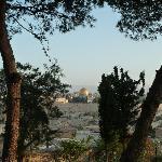 vue de la maison d'Abraham