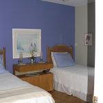 chambre 2 lits confortables