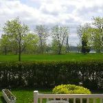the park opposite the B & B