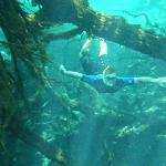 snorkeling the Rio Selva at Tres Rios