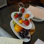 Complimentary fruit/chocolates!