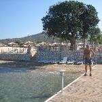 The jetty at Apollonium