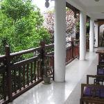 MCA upstairs balcony