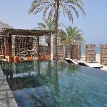 Beachfront pool villa suite - pool area