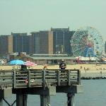 Vista di Coney Island