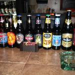 Wide selection of beer