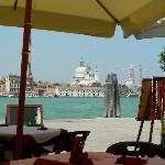 The view of Venice from our table