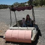 Flintstones car - at The Rock Stop!