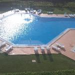 Picture of the pool from our balcany
