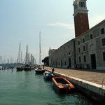 The campanile and marina