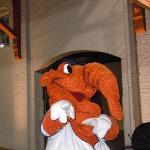 Big Mo himself...the Montgomery Biscuit Mascot