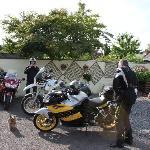 secure rear yard