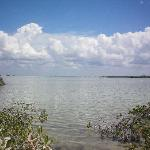 Large lagoon in the Sian Kaan Biosphere - home to tons of Bonefish