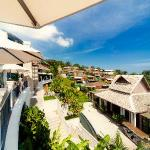 The View looking at Over Water Villas
