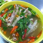 super chicken feet spicy soup, very tasty and smooth