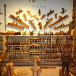 Historic woodworking tools