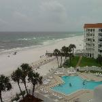 Great beach view