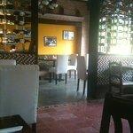 Casa Blanca Panama (lone yellow wall)