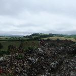 View from the battlements at Carrisbrooke Castle