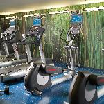 Complimentary fitness room with 24/7 access
