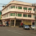 one of the many historical buildings in Kluang.