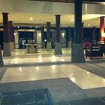 The lobby at Santika