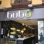 the front of Bubo